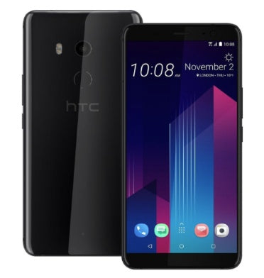 HTC U11+ 128GB DUAL SIM CERAMIC BLACK