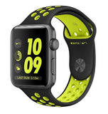 APPLE WATCH SERIES 2 NIKE+ 42mm SPACE GRAY ALUMINUM CASE BLACK/VOLT NIKE SPORT BAND