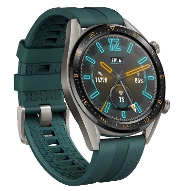 HUAWEI WATCH GT 46MM STEEL/FLUORO-ELASTOMER DARK GREEN