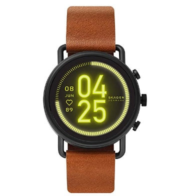SKAGEN FALSTER 3 SMARTWATCH STEEL/BROWN
