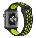 APPLE WATCH SERIES 2 NIKE+ 38mm SPACE GRAY ALUMINUM CASE BLACK/VOLT NIKE SPORT BAND