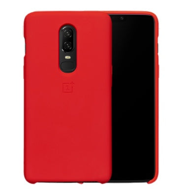 ONEPLUS 6 SILICONE PROTECTIVE CASE RED | ONEPLUS