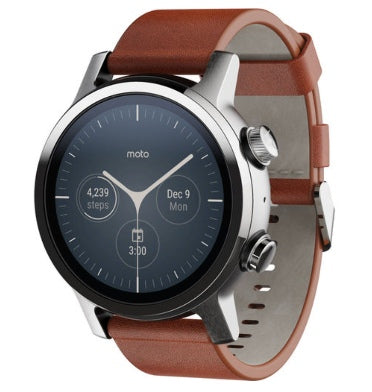 MOTO 360 GEN 3 SMARTWATCH (2020) STEEL GREY