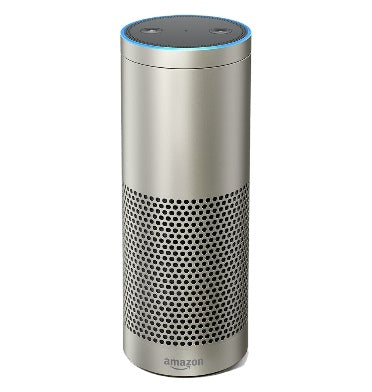 AMAZON ECHO PLUS 2017 WITH BUILT-IN SMART HUB SILVER