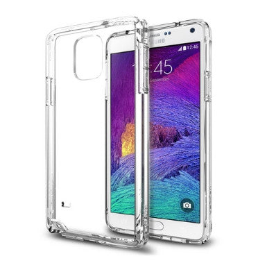 SAMSUNG GALAXY NOTE 4 PREMIUM AIR CUSHIONED CASE CRYSTAL CLEAR | SPIGEN