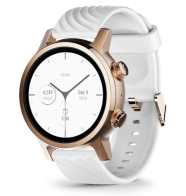 MOTO 360 GEN 3 SMARTWATCH (2020) ROSE GOLD