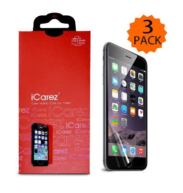 IPHONE 6 SCREEN PROTECTOR HD 3PACK | I-CAREZ