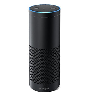 AMAZON ECHO PLUS 2017 WITH BUILT-IN SMART HUB BLACK