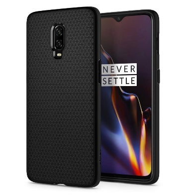 ONEPLUS 6T PREMIUM SLIM LIQUID AIR CASE BLACK | SPIGEN