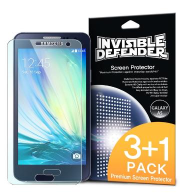 SAMSUNG GALAXY A5 SCREEN PROTECTOR HD 3PACK | INVISIBLE DEFENDER
