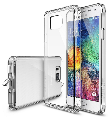 SAMSUNG GALAXY ALPHA PREMIUM FUSION CASE & SCREEN PROTECTOR CLEAR | RINGKE