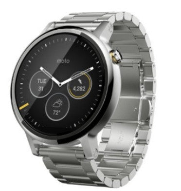 MOTOROLA MOTO 360 2ND GEN 46MM SILVER METAL