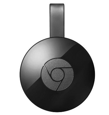 GOOGLE CHROMECAST 2 HDMI STREAMING MEDIA PLAYER (2015) BLACK