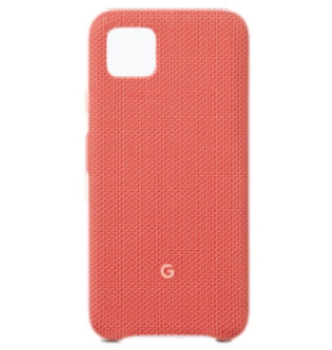 GOOGLE PIXEL 4 FABRIC CASE COULD BE CORAL