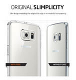 SAMSUNG GALAXY S6 EDGE PREMIUM AIR CUSHION HYBRID CASE CRYSTAL CLEAR | SPIGEN