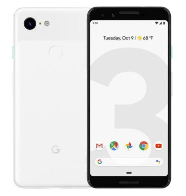GOOGLE PIXEL 3 64GB CLEARLY WHITE
