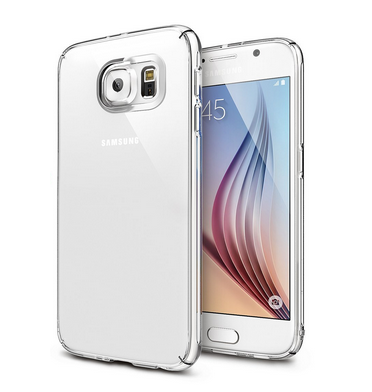 SAMSUNG GALAXY S6 PREMIUM SLIM CASE & SCREEN PROTECTOR CLEAR | RINGKE