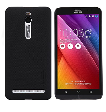 ASUS ZENFONE 2 PREMIUM ULTRA SLIM FIT CASE BLACK & SCREEN PROTECTOR | NILKIN