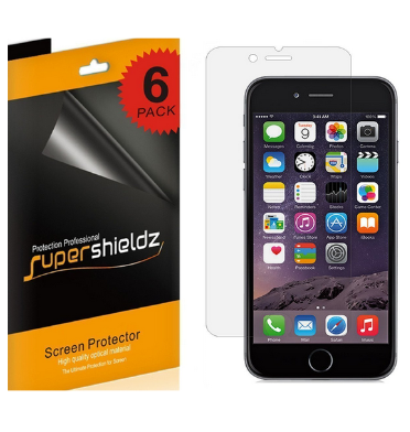 IPHONE 6 SCREEN PROTECTOR HD 6PACK | SUPERSHIELDZ