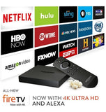 AMAZON FIRE TV STREAMING MEDIA PLAYER 4K ULTRA HD (2015)