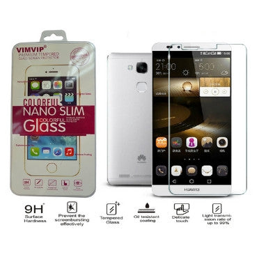HUAWEI ASCEND MATE 7 PREMIUM TEMPERED GLASS SCREEN PROTECTOR 9H | VIMVIP