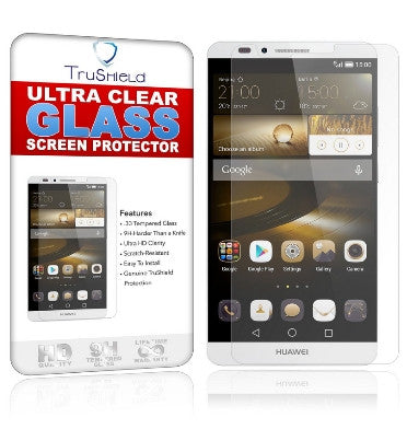 HUAWEI ASCEND MATE 7 PREMIUM TEMPERED GLASS SCREEN PROTECTOR 9H | TRU SHIELD