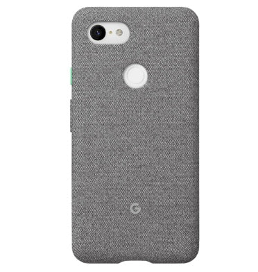 GOOGLE PIXEL 3 FABRIC CASE FOG OPEN BOX