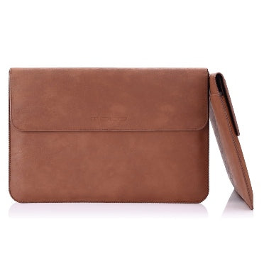 MICROSOFT SURFACE PRO PREMIUM PU LEATHER SLEEVE COVER BROWN | MOKO