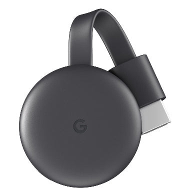 GOOGLE CHROMECAST 3 (2018) CHARCOAL