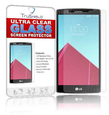 LG G4 PREMIUM TEMPERED GLASS SCREEN PROTECTOR 9H | TRU SHIELD