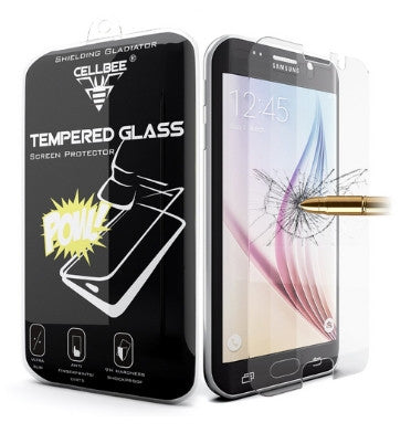 SAMSUNG GALAXY S6 TEMPERED GLASS SCREEN PROTECTOR 9H | CELLBEE