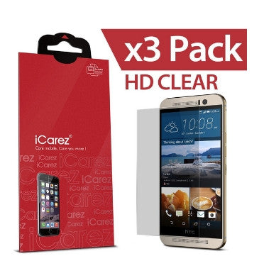 HTC ONE M9 SCREEN PROTECTOR HD 3PACK | I-CAREZ