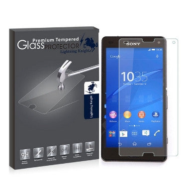 SONY XPERIA Z3 COMPACT PREMIUM TEMPERED GLASS SCREEN PROTECTOR 9H | LK