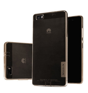 HUAWEI ASCEND P8 LITE PREMIUM ULTRA SLIM CASE CLEAR BROWN | NILKIN