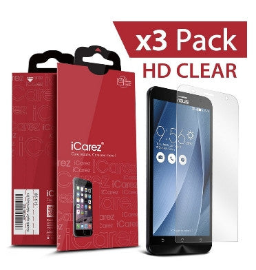 ASUS ZENFONE 2 SCREEN PROTECTOR HD 3PACK | I-CAREZ