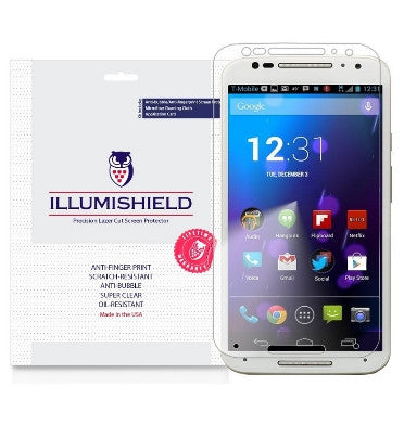 MOTO X PURE SCREEN PROTECTOR HD 3PACK | ILLUMISHIELD