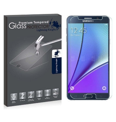 SAMSUNG GALAXY NOTE 5 PREMIUM TEMPERED GLASS SCREEN PROTECTOR 9H | LK