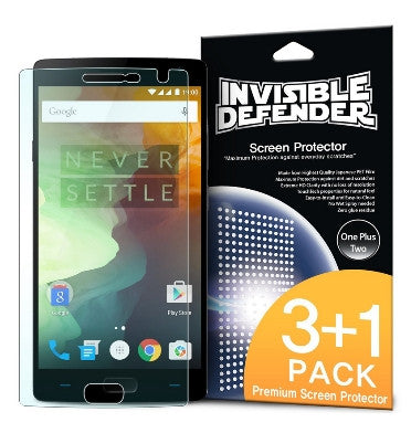 ONEPLUS 2 SCREEN PROTECTOR HD 4PACK | INVISI DEFENDER