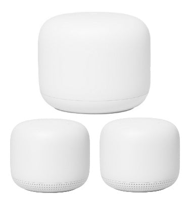 GOOGLE NEST WI-FI HOME ROUTER & 2 POINTS (2019)