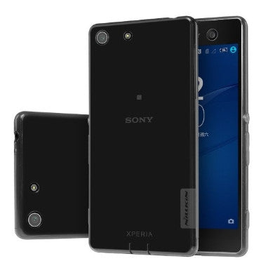 SONY XPERIA M5 PREMIUM ULTRA SLIM FIT TPU CASE CLEAR WHITE | NILLKIN