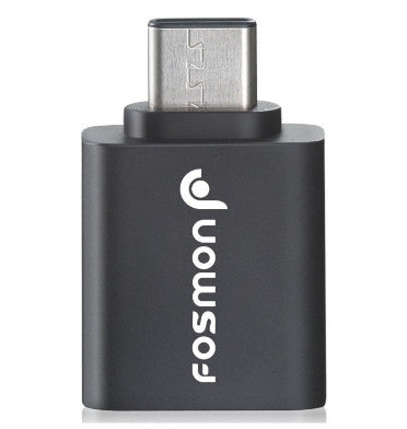 USB-C TO USB 3.0 OTG ADAPTOR BLACK | FOSMON