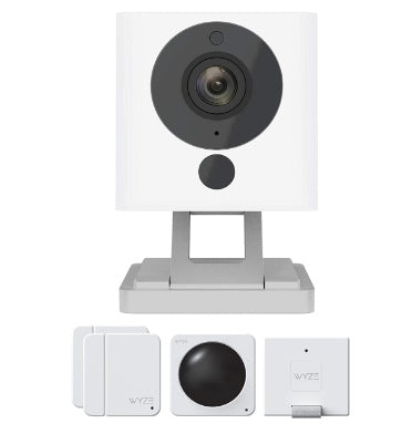WYZE CAM V2 SMART HOME CAMERA WITH WYZE SENSE STARTER KIT