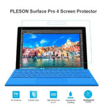 MICROSOFT SURFACE PRO 4 TEMPERED GLASS SCREEN PROTECTOR 9H | PLESON