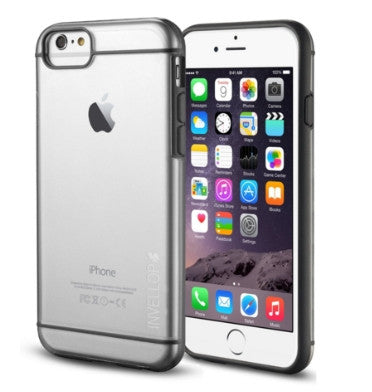 IPHONE 6 SLIM FIT HYBRID CASE GRAY/CLEAR | INVELLOP