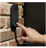 GOOGLE NEST HELLO VIDEO DOORBELL SILICONE PROTECTIVE COVER BLACK