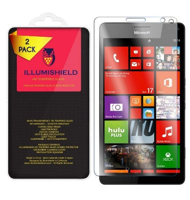 MICROSOFT LUMIA 950XL PREMIUM TEMPERED GLASS SCREEN PROTECTOR 9H 2PACK | ILLUMISHIELD