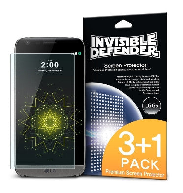 LG G5 SCREEN PROTECTOR HD 4PACK | INVISIBLE DEFENDER