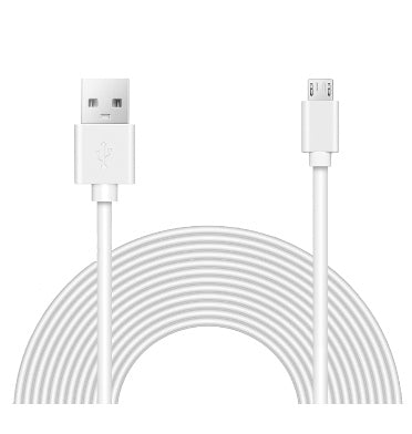 WYZE CAM POWER EXTENSION CABLE 15FT/4M WHITE