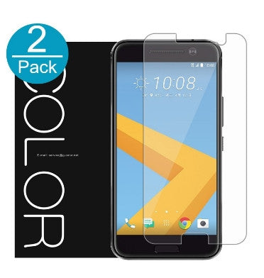 HTC 10 PREMIUM TEMPERED GLASS SCREEN PROTECTOR 2PK | G-COLOR