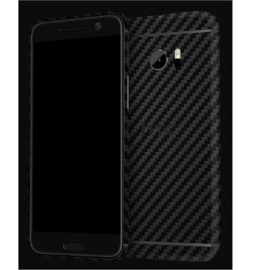 HTC 10 PREMIUM 3M CARBON FIBRE BACK/UPPER/LOWER SKIN BLACK CARBON | DBRAND